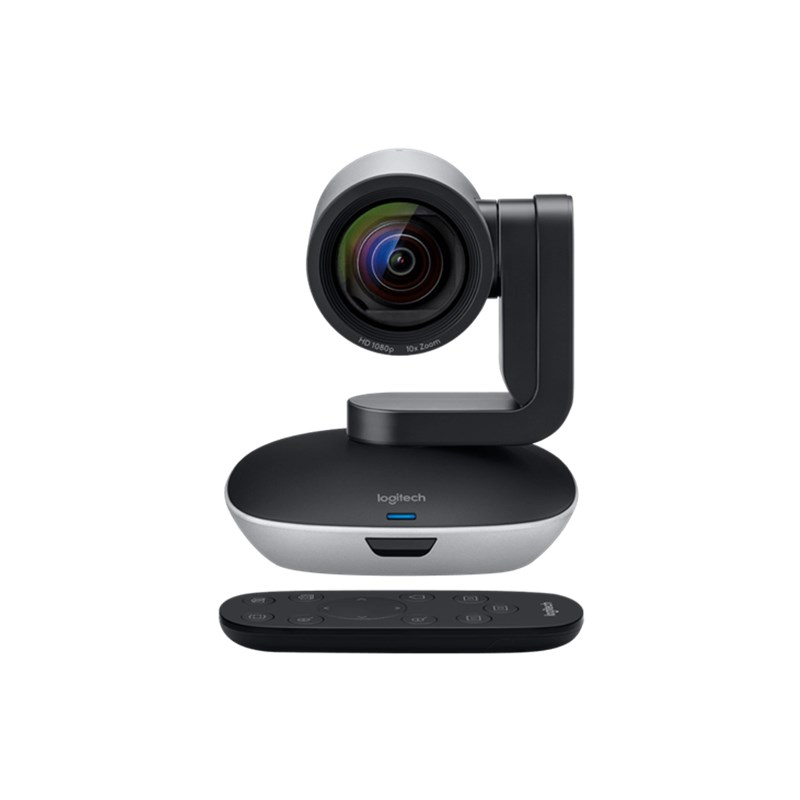 Logitech PTZ PRO 2 HD 1080p video camera with enhanced pan/tilt and zoom