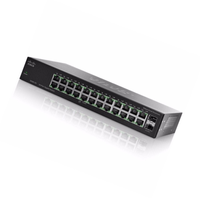 SF95-24 24-Port 10/100 Unmanaged Switch RJ-45 connectors for 10BASE-T/100BASE-TX
