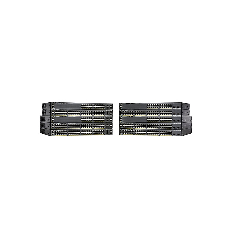 Cisco Original 2960-XR Series 24 Ports Switch WS-C2960XR-24TS-I without Poe Switch