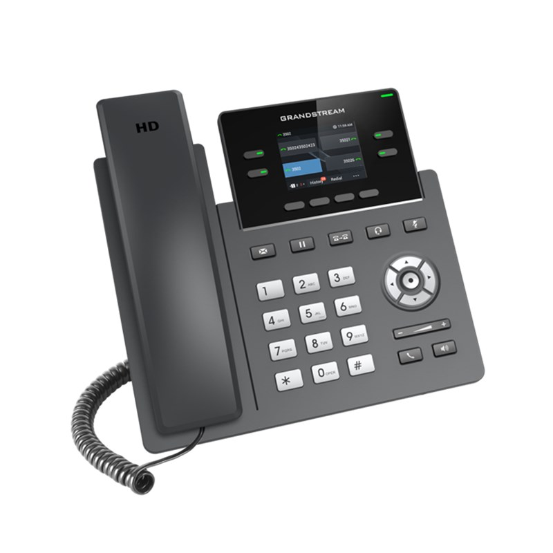 Grandstream 2-line Carrier-Grade IP Phone GRP2612