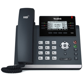 Yealink T42S (skype for business) Ultra-elegant Gigabit IP Phone SIP-T42S