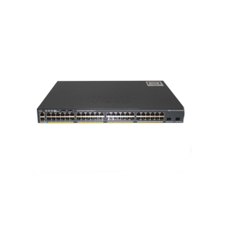 Cisco Catalyst 2960-X Series Switch 2960-X 48 GigE PoE 370W 2 X 10G SFP+ LAN Base WS-C2960X-48LPD-L