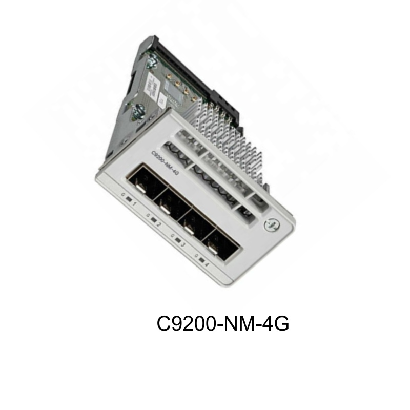 Cisco C9200-NM-4G Catalyst 9200 4 X 1G Network Module For 9200 Network Switches